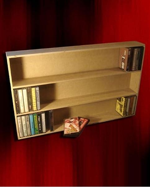 Mueble ESTANTERIA DE Madera para 100 Cintas DE Cassette/Ref ...