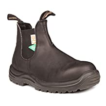 Blundstone 164 CSA Safety in Crazy Horse Brown