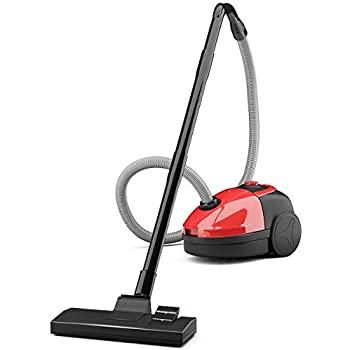 Amazon Com Costway Bagless Canister Vacuum Rewind Corded