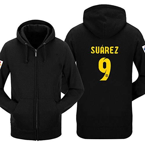 Shocly Barcelona Goals Sweatshirt 10 Pulga Messi Top Player Football Club Jungen,9,S
