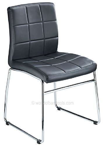 Modern Contempo Dining Chair Black Costantino
