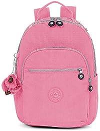 Seoul GO Small Solid Backpack, Deep Purple. Kipling