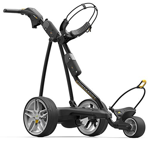 (PowaKaddy 2019 FW3s Lithium Electric Golf Push Cart (XL Battery) - from in The Hole Golf)