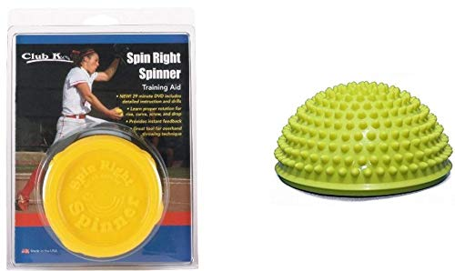 (Spin Right Spinner & Power POD Fastpitch Softball Pitching Training Aids Equipment)