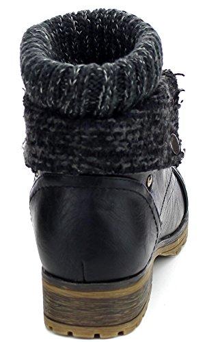 Refresh style bootie,Wynne-01 Black