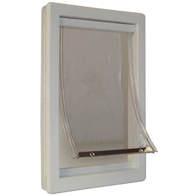 Perfect Pet 5-Inch by 7-Inch Soft Flap Cat Door with Telescoping Frame, Small