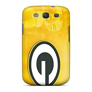 Unique Design Galaxy S3 Durable Tpu Case Cover Green Bay Packers