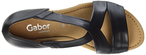 Gabor Women's Comfort Sport Ankle Strap Sandals Schwarz (Schwarz (Jute)) cheap price cost big discount cheap online buy online new cheap visit new 4durwN6