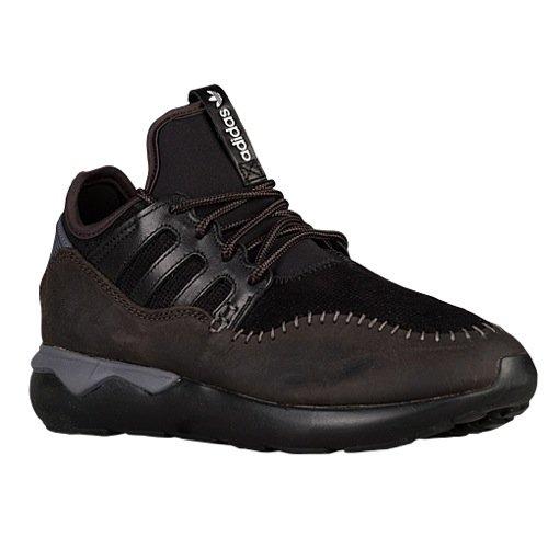 Adidas TUBULAR MOC RUNNER mens running-shoes B24688_9 - Core Black/Core Black/Nbrown