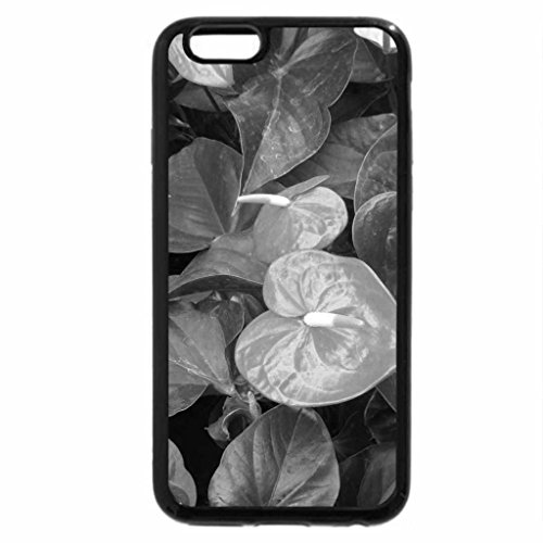 iPhone 6S Plus Case, iPhone 6 Plus Case (Black & White) - A day at the mall 03 Flamingo Lily