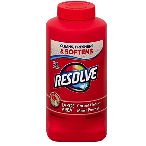 Resolve Carpet Cleaner Powder, 18 oz Bottle, For Dirt & Stain Removal (Pack of 12) by Resolve