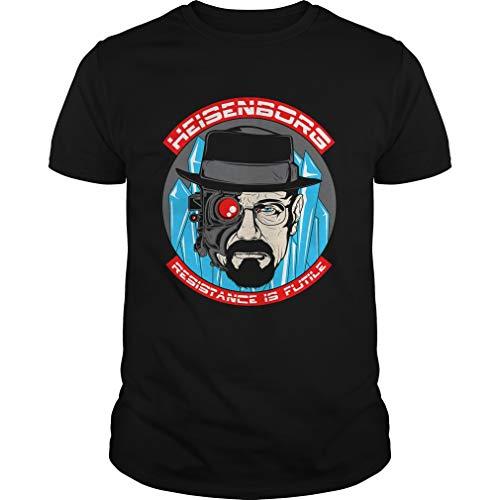 Breaking Bad Heisenberg T Shirt For Men Women Christmas Birthday Halloween Lovely Gift Short Sleeve Fit Top Tees Cute Boy Girls -123]()