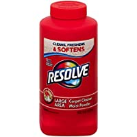 Resolve Ssss Carpet Cleaner Powder, 18 Oz Bottle, for Dirt and Stain Removal (Pack of 3)
