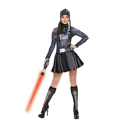 Star Wars Women's Darth Vader Dress Costume size -