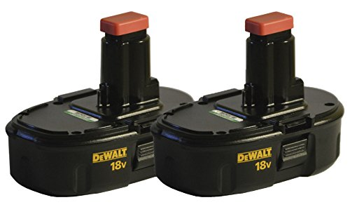 DeWALT DC9098 18V Ni-Cd Low Profile Batteries (2-Pack)