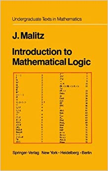 Book Introduction to Mathematical Logic: Set Theory Computable Functions Model Theory (Undergraduate Texts in Mathematics)