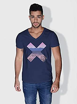 Creo Tokyo X City Love T-Shirts For Men - L, Blue
