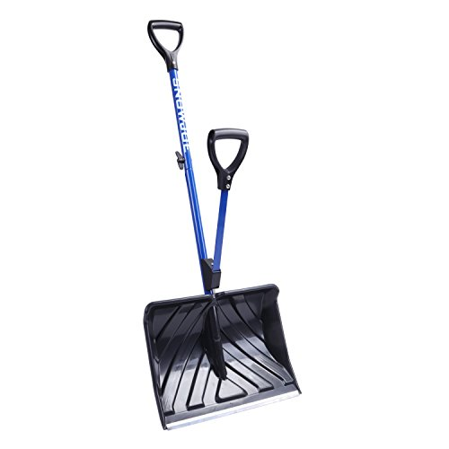 Snow Joe SJ-SHLV01 Shovelution Strain-Reducing Snow Shovel | 18-Inch |...