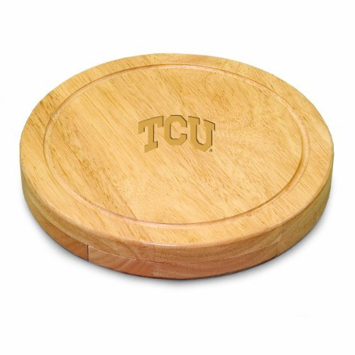 NCAA Texas Christian Horned Frogs Circo Cheese Set by Picnic Time