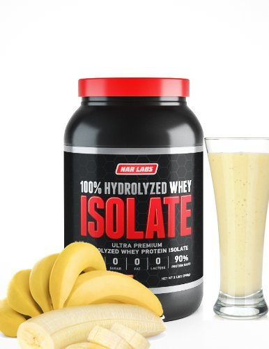 NAR LABS Hydrolysed Whey Isolate 2lbs – Banana Review