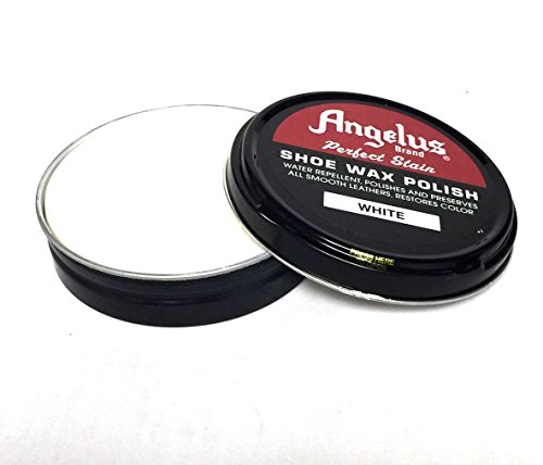 Angelus Perfect Stain Shoe Wax Polish, 2.6oz (White)