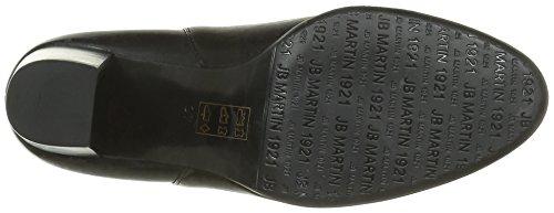 Jb Martin Charmel, Zapatillas de estar Por Casa Para Mujer Noir (Veau Gibson Noir)