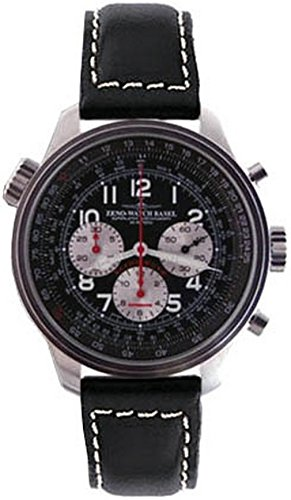 Zeno-Watch Mens Watch - OS Slide Rules Slide Rule Chronograph 2020 - 8557CALTH-b1