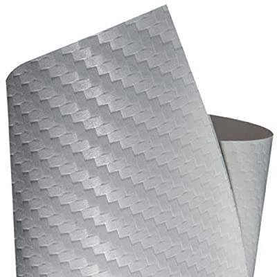 Foliatec FT31092 Carbody DesignFilm Ultra Carbon, 152 cm x lfm, White-Structured: Automotive