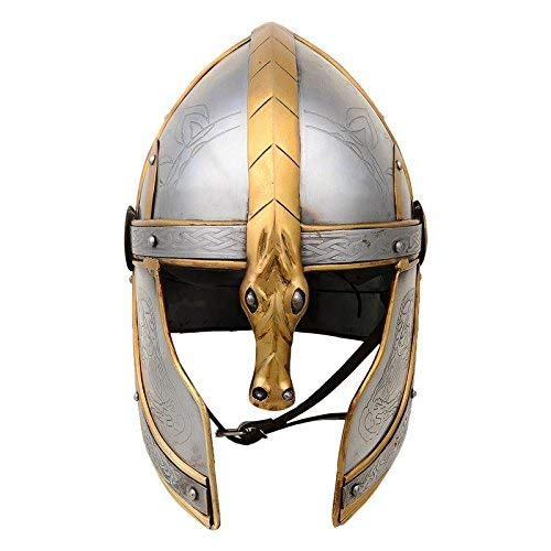 QUALITYMUSICSHOP Lord of The Ring Eomer Helmet Medieval Armour Costume