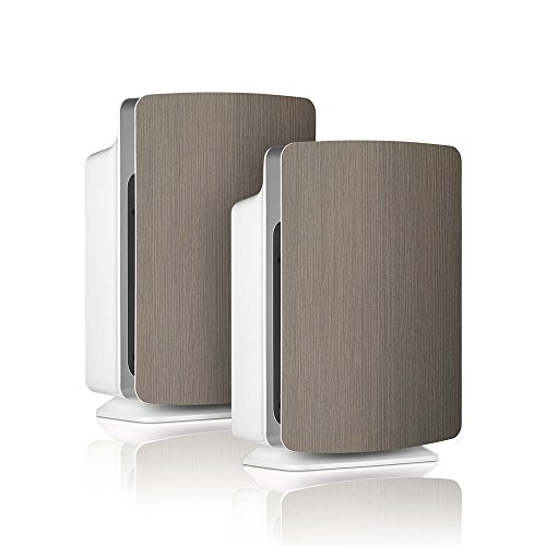 Alen-BreatheSmart-FIT50-Customizable-Air-Purifier-with-2-HEPA-Pure-Filter-for-Allergies-and-Dust-Weathered-Gray-Smart-Bundle-Pure-2-Pack