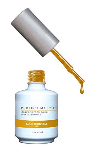 LECHAT Perfect Match Nail Polish, Golden Doublet, 0.500 Ounce