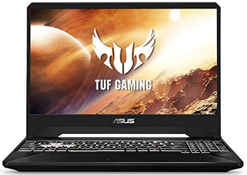 "Newest Asus TUF 15.6"" FHD 144Hz IPS Gaming Laptop PC, 9th Gen Intel 6-Core i7-9750H Upto 4.5GHz, 16GB RAM, 512GB PCIe SSD, NVIDIA GeForce GTX 1650 4GB, RGB Backlit Keyboard, Windows 10 Home"