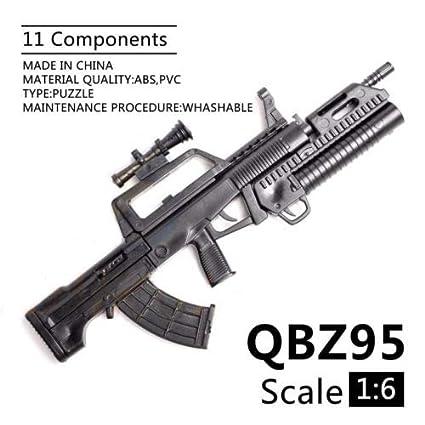 Buy Generic 1 6 Scale Pubg Mobile Qbz 95 Rifle Toy Gun Model Puzzles