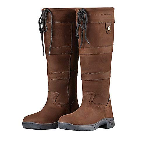 Dublin River Boots III Chocolate Ladies 8 -