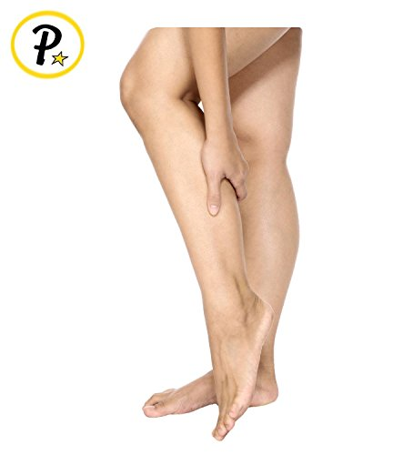 Presadee True Medical Grade 20-30 mmHg Compression Open Toe Zipper Leg Calf Circulation Veins High Quality Premium Socks (2XL, Beige) by Presadee (Image #3)