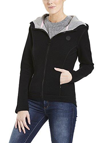 Bench Jacket Binding, Chaqueta para Mujer Negro (Black Beauty Bk11179)
