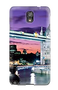 High Impact Dirt/shock Proof Case Cover For Galaxy Note 3 (tower Bridge England)