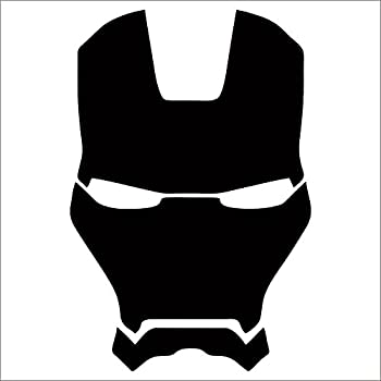Iron man vinyl decal sticker black 4