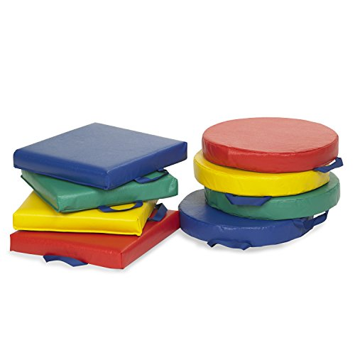 Floor Pillows For Daycare : ECR4Kids Softzone Carry Me Floor Cushions for Flexible - Import It All