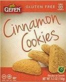 Gefen Cinnamon Cookies Gluten Free Kosher For Passover 5.3 Oz. Pack Of 3.
