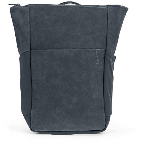 AEP Plain Mochila piel 46 cm compartimento Laptop Storm Grey