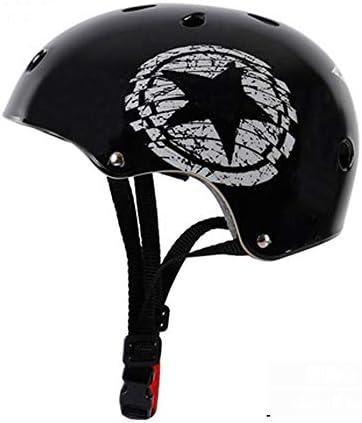 FH アウトドアサイクリングヘルメット、ロード&マウンテンバイクハイキング安全認定ヘルメット、成人男性および女性/ 10代の男の子と女の子 (Color : Black)