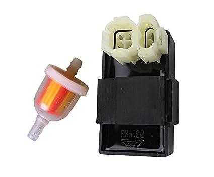 ouyfilters AC 6 pines CDI memoria con filtro de combustible ...