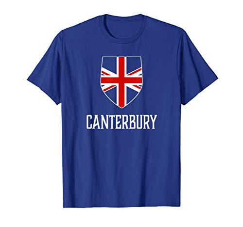 Canterbury, England - British Union Jack UK -
