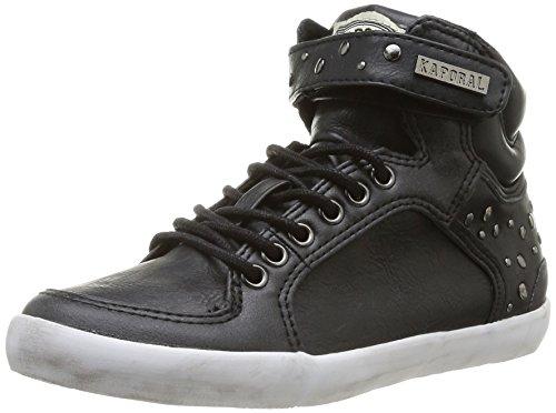 Kaporal Sashay - Zapatillas para niñas Negro - Negro (8 Noir)