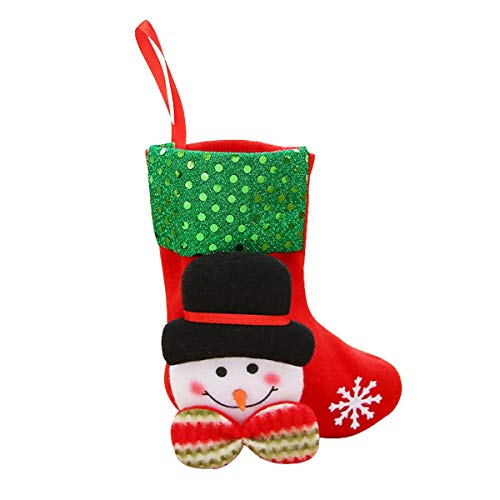 Stockings & Holders - 1pc Christmas Stockings Elves Santa Gift Bags Tree Decorations Party Candy Storage - Holders Stockings Stockings Gift Holders Cotton Small Tote Drawstring Shopper Shop