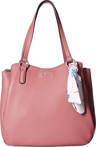Nine West Womens Adrienne Shoulder Bag Peony/Floral Scarf One Size