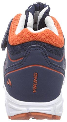 enfant Mid Basses Trym Navy Viking 531 Mixte GTX Bleu Orange Baskets Blau 1YUUnq5