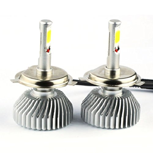 Mens Clearance Sb (NEW LED Light Headlight 60W 6000LM H4 Vehicle Car Hi/Lo Beam Bulb Kit 6000k White)