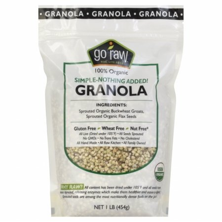 Go Raw Granola Simple Sprtd Org by Go Raw